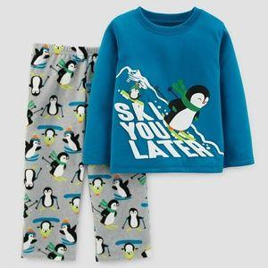 Carters Penguin Pjs Ski You Later